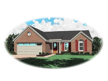Traditional House Plan, 006H-0017