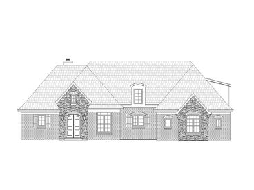 2-Story Home Plan, 062H-0015