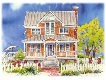 Coastal Home Design, 041H-0132