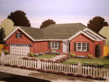 Affordable House Plan, 059H-0167