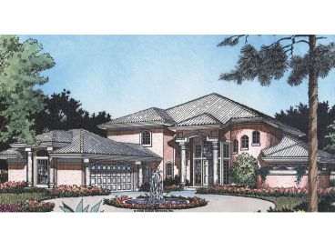 Luxury House Plan, 043H-0202