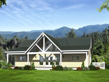 Mountain Home Design, Front, 062H-0079