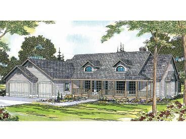 Country House Plan, 051H-0018