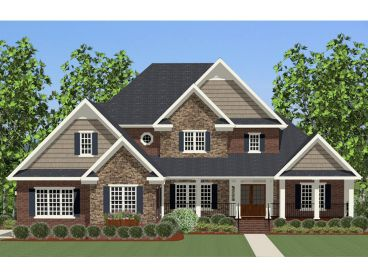 Two-Story House Plan, 067H-0031