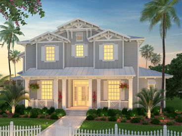 Coastal House Plan, 069H-0028