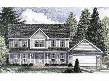 2-Story Home Plan, 014H-0059