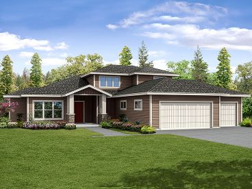 Two-Story House Plan, 051H-0257