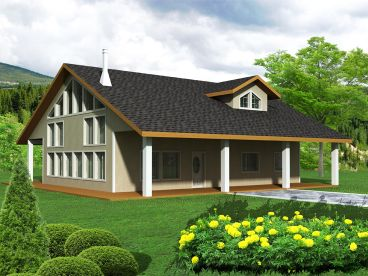 Country Home Plan, 012H-0101