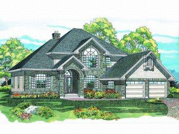 Traditional House Plan, 032H-0037