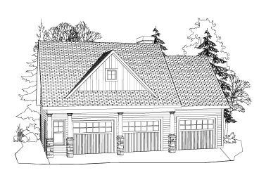 Carriage House Plan, 053G-0005