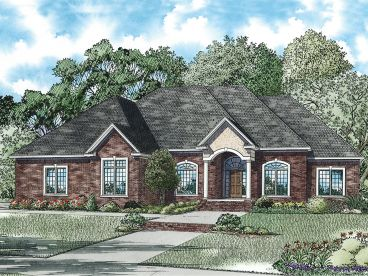 Luxury Home Plan, 025H-0278