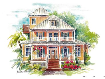 Southern Beach House Plans House Plans
