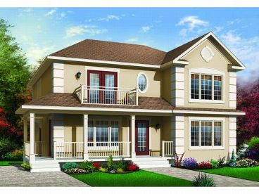 Multi-Family House Plan, 027M-0017