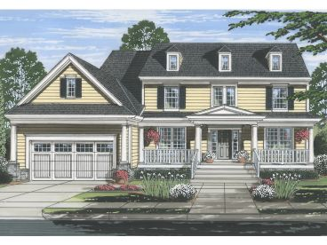 Country House Plan, 046H-0138