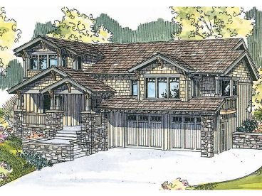 Northwestern Home Plan, 051H-0114