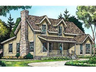 Country Home Plan, 008H-0029