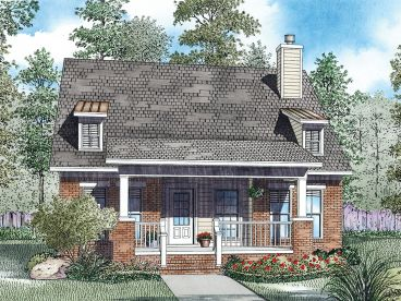Narrow Lot House Plan, 025H-0275