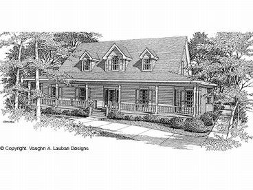 Country Home Plan, 004H-0093