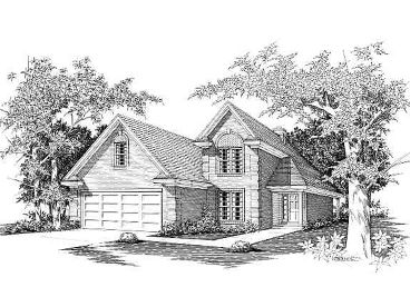 Two-Story Home Design, 061H-0043