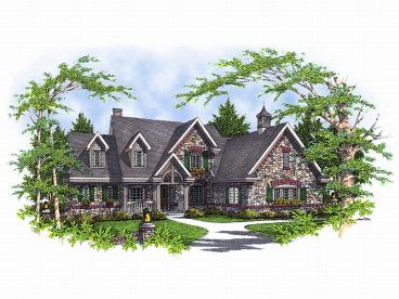 European Home Plan, 020H-0040