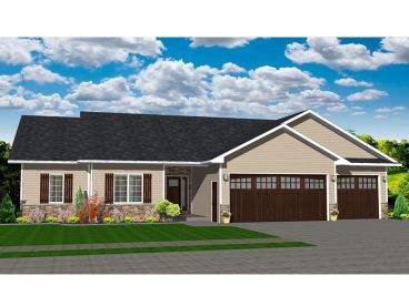 Traditional House Plan, 083H-0008