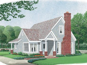 Small House Plan, 054H-0099