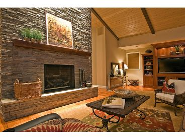 Great Room Fireplace, 051H-0163