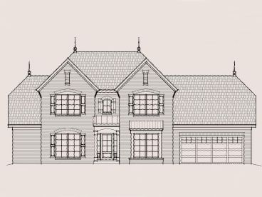European House Plan, 061H-0085
