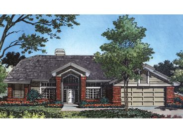 One-Story Home Plan, 043H-0064