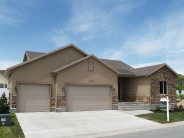 Traditional Ranch Home, 065H-0011