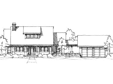 Craftsman House Plan, 052H-0075