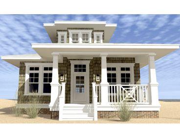 Beach House Plans Narrow Lot Beach House Plan 052H 0108