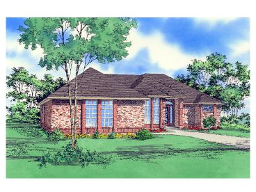 Contemporary House Plan, 009H-0014