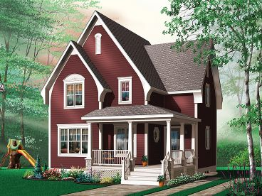 Small House Plan, 027H-0189