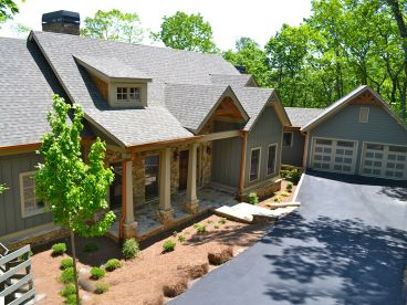 Ranch House Plan, 053H-0064
