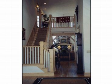Staircase PhotoSmall House Plan Photo, 035H-0051