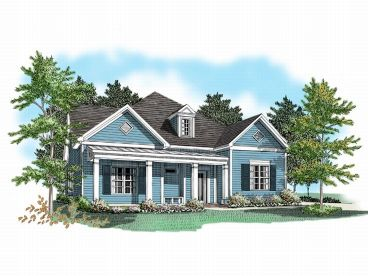 Narrow Lot Home Design, 019H-0055