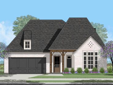 Ranch House Plan, 079H-0021