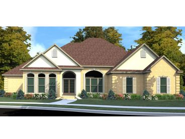 Sunbelt House Plan, 073H-0102