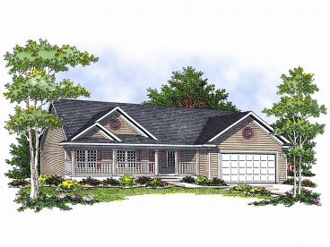 Small House Plan, 020H-0094
