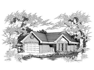 Traditional Home Design, 061H-0038