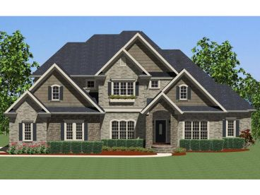 Traditional Home Plan, 067H-0021