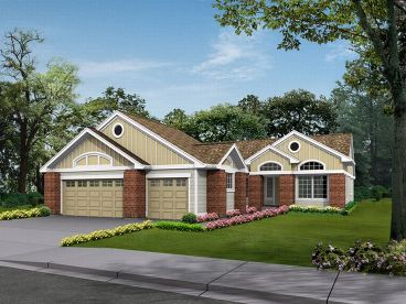 1-Story Home Plan, 035H-0045