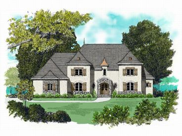 Luxury House Design, 029H-0062