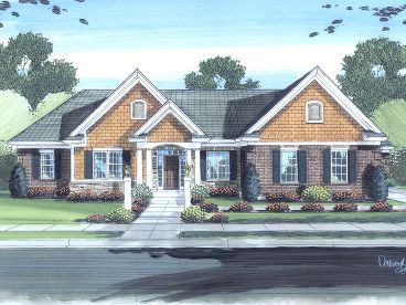Ranch Home Design, 046H-0051
