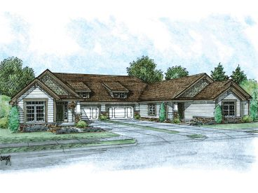 Multi-Family Home Plan, 031M-0051