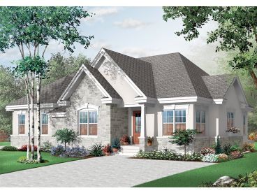 Multi-Family Home Plan, 027M-0065