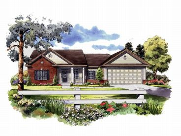 Small Home Plan, 001H-0024