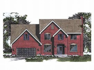 Two-Story House Design, 023H-0021