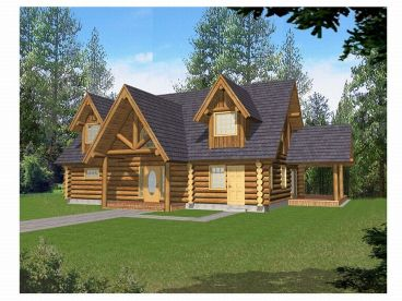 Northwestern Log Home, 012L-0040